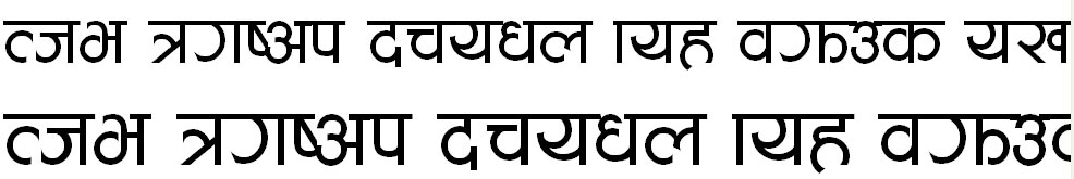 Aakriti Hindi Font