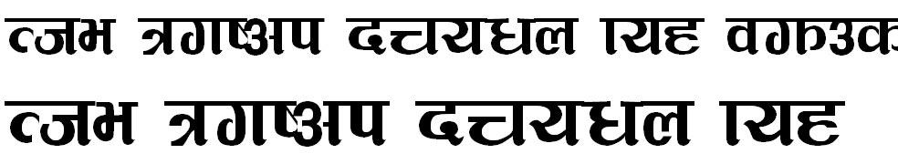 Abhyudaya Hindi Font