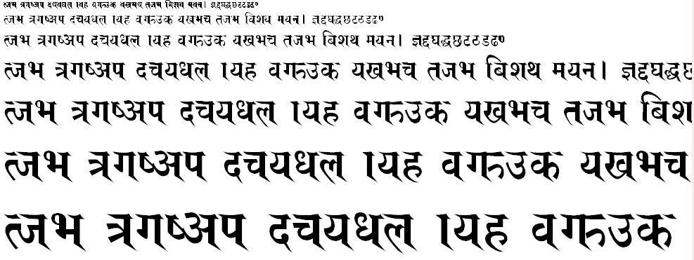 Adarsa Hindi Font