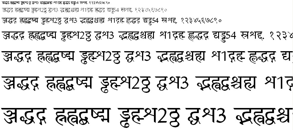 Amar Ujala Hindi Font