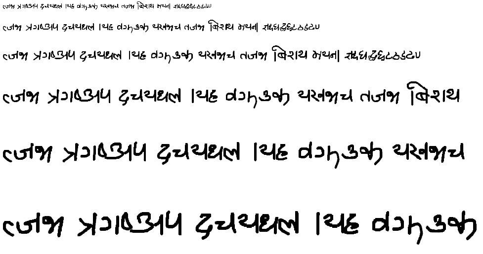 Ananda Mirmirey Hindi Font