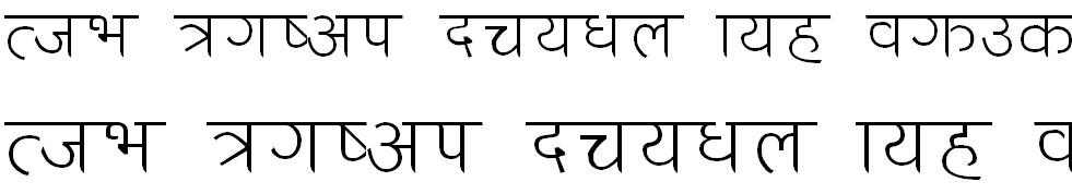Anandazz Lt Hindi Font