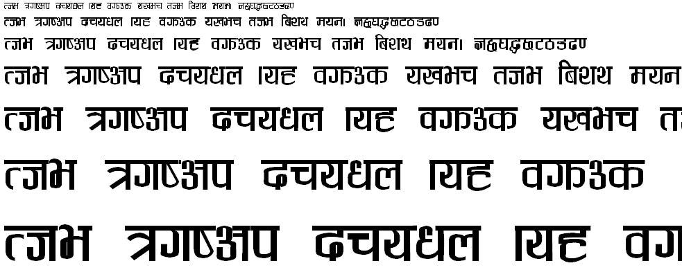Anjali Regular Hindi Font