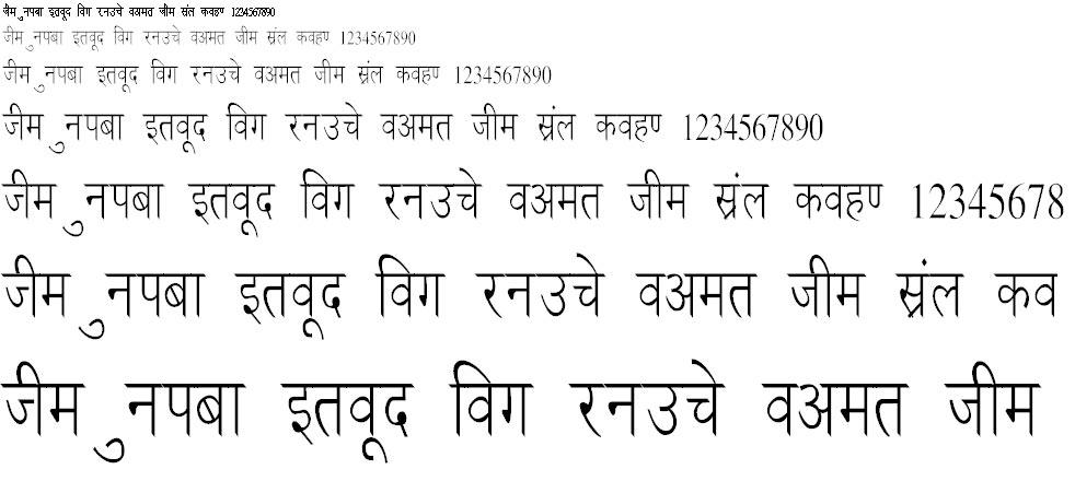 Ankit Condensed Hindi Font