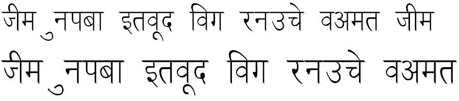 Ankit Thin Hindi Font