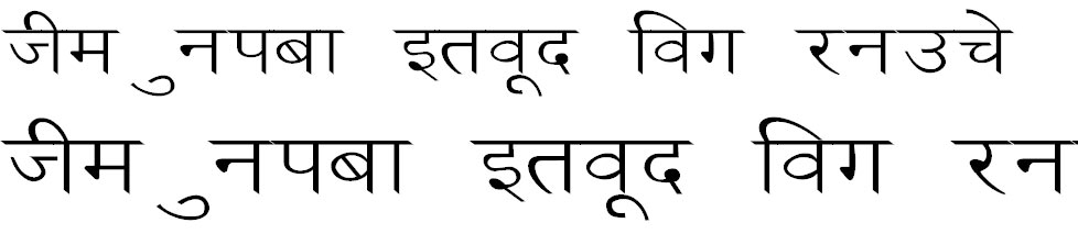Ankit Wide Hindi Font