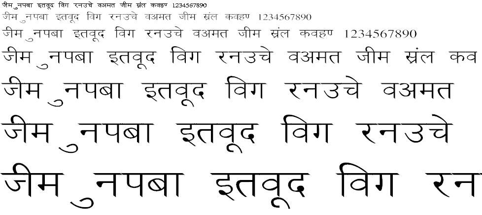 Ankit Wide Hindi Font