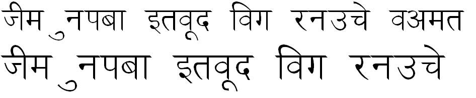 Ankit Hindi Font