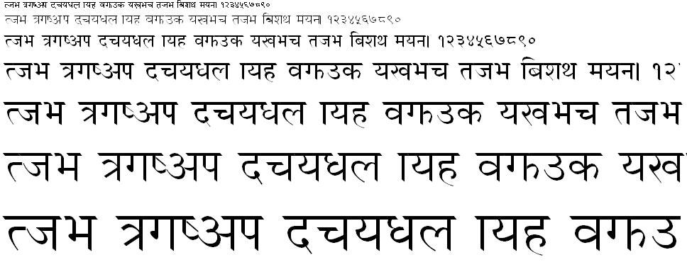 Annapurn Regular Hindi Font