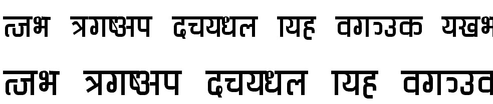 Babita Hindi Font