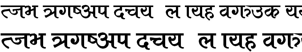 Babu Normal Hindi Font