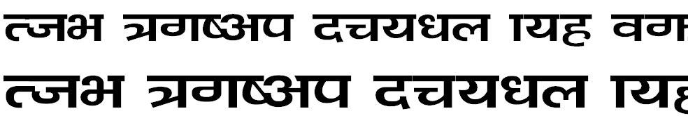 Bahunbad Hindi Font