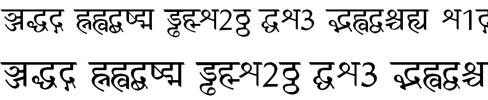 Bhaskar Hindi Font