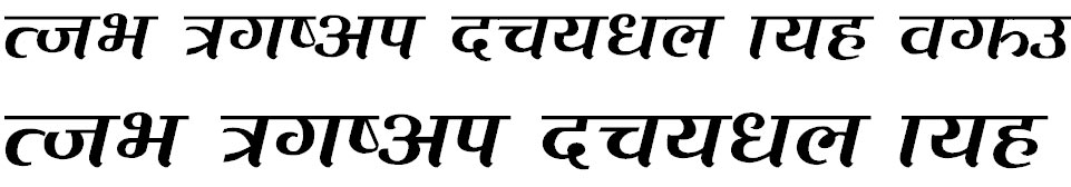 Bisfot Hindi Font