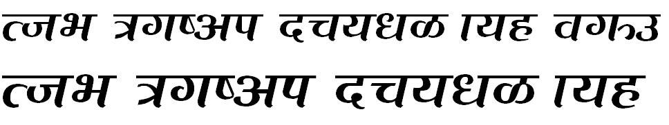 Chadani Hindi Font