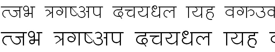 ChandraText Hindi Font