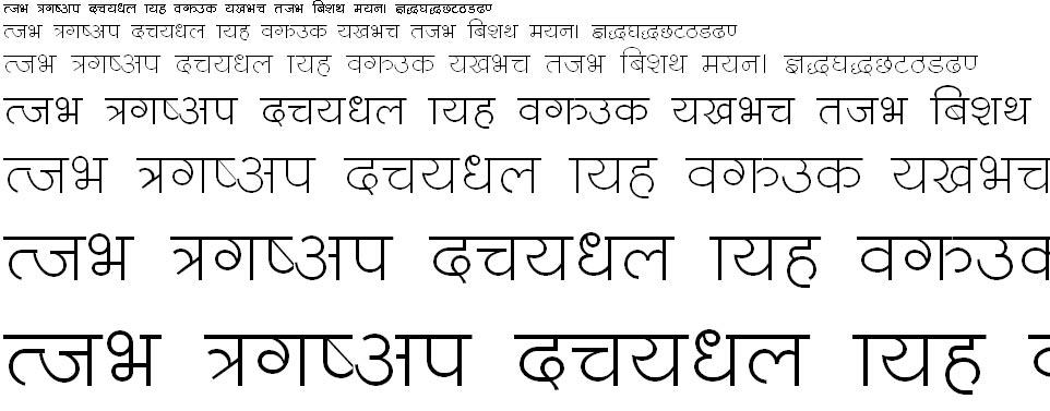 ChandraText Hindi Font
