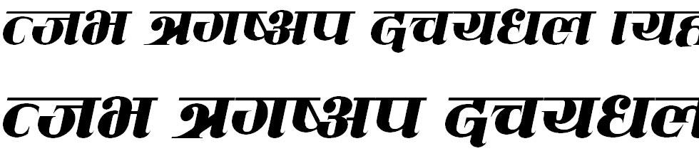 CV Mahanagar Italic Hindi Font