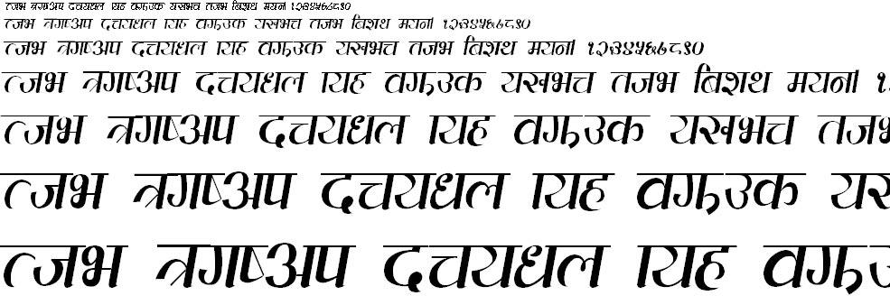 Everest Hindi Font