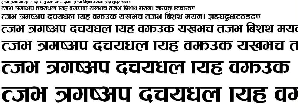 Ganess Hindi Font