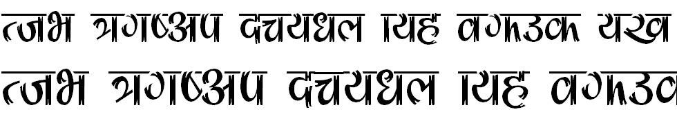 Ganga 1 Hindi Font