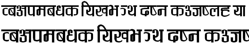 Gauri Regular Hindi Font