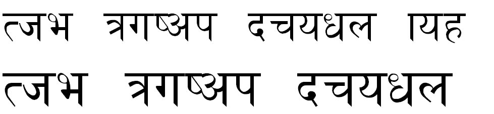 Golchha Nepali Normal Hindi Font