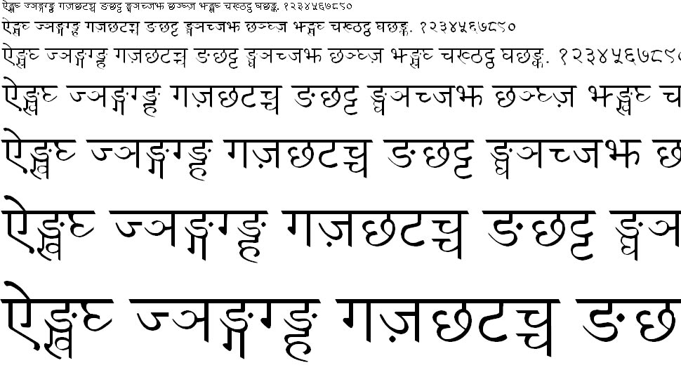 Gorkhali Nepali Hindi Font