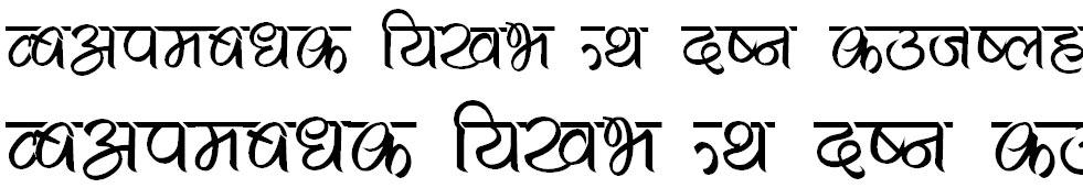Hahahuhu Hindi Font