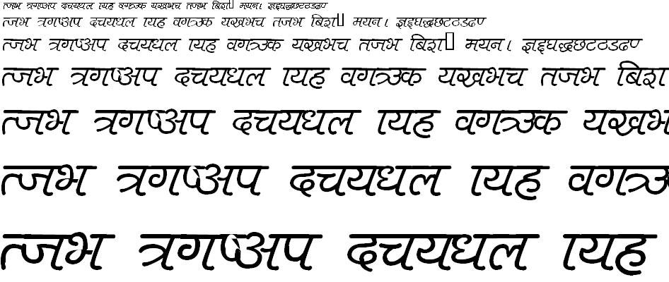 Harka 1 Hindi Font