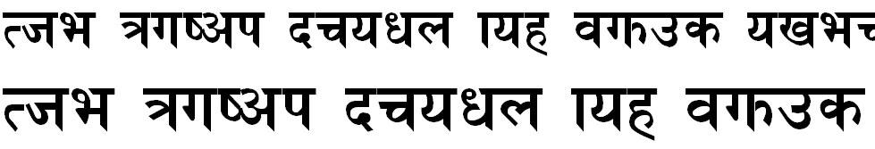Heera Bold Hindi Font