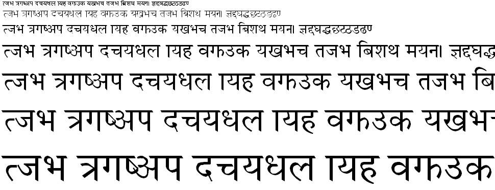 Himalaya Regular Hindi Font