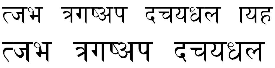 Himalaya TT Font Hindi Font