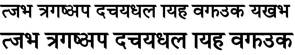 Himalaya Bold Hindi Font