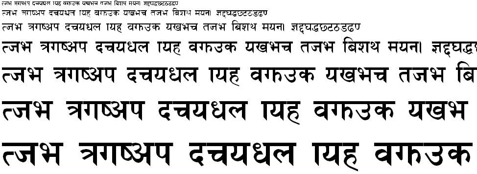 Himalb Regular Hindi Font