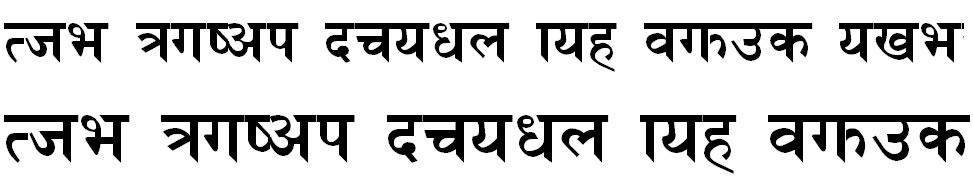 HimalBold Bold Hindi Font