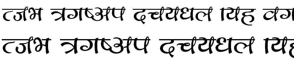 Jyapu Hindi Font
