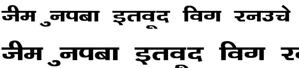 Kanika Bold Hindi Font