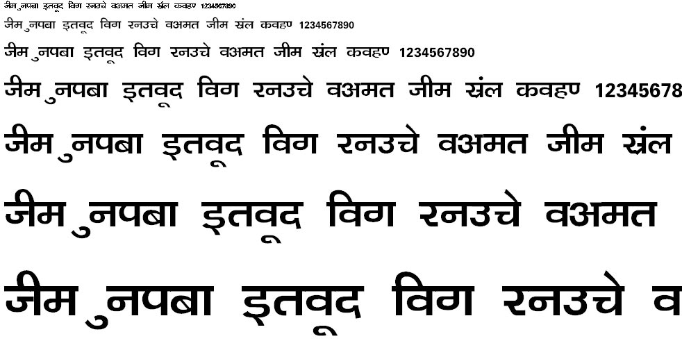Kanika Thin Hindi Font