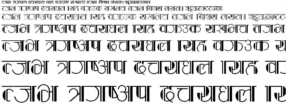 Kasturi Hindi Font