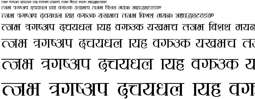 KCS Devanagari Hindi Font