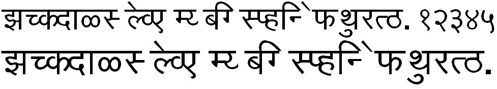 KF Kiran Hindi Font