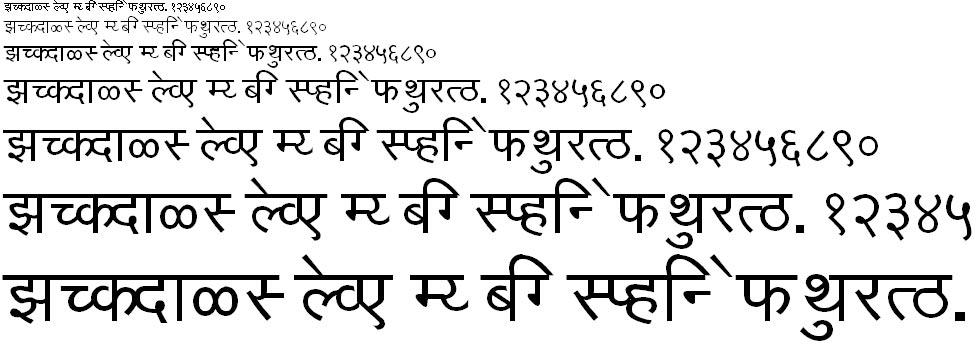 KF Kiran Hindi Font