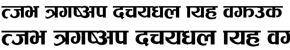 Khem Light Hindi Font