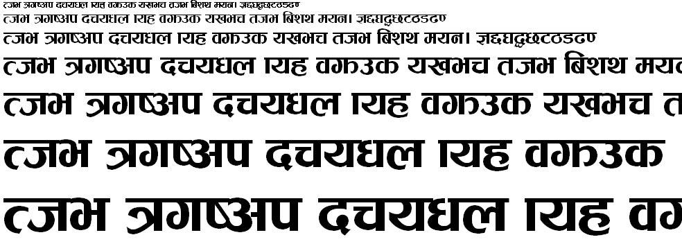 Khem Light Hindi Font