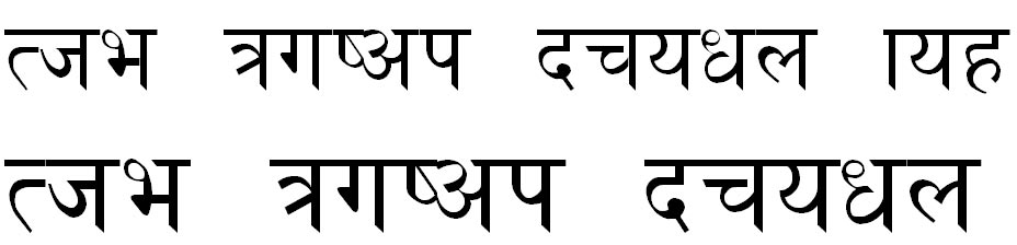 Khusbu Hindi Font