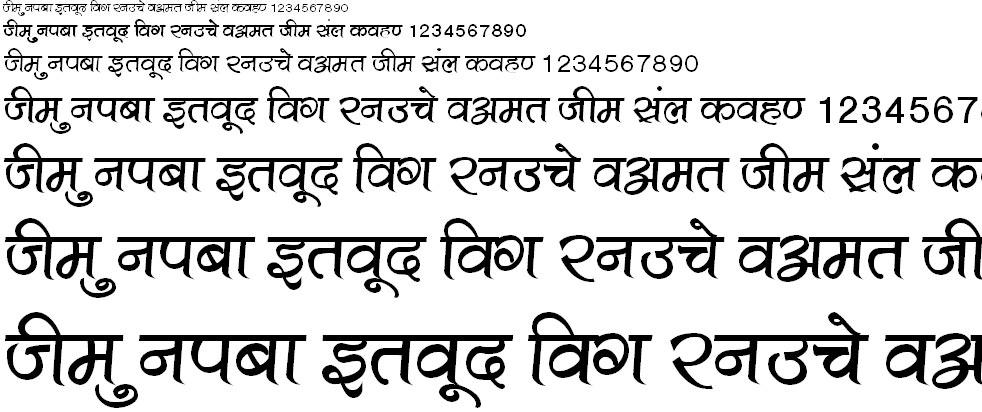 Kruti Dev 501 Hindi Font