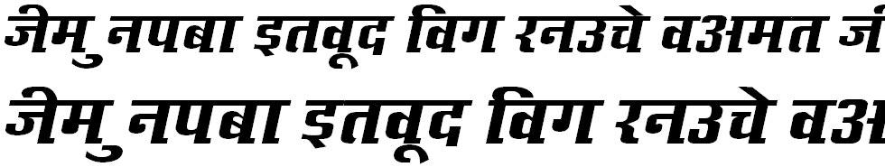 Kruti Dev 632 Hindi Font