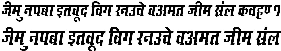 Kruti Dev 636 Hindi Font