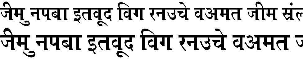 Kruti Dev 670 Bangla Font